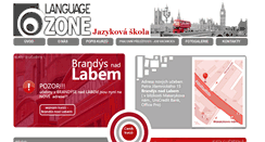 Preview of languagezone.cz